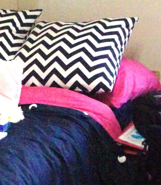 college dorm duvet diy